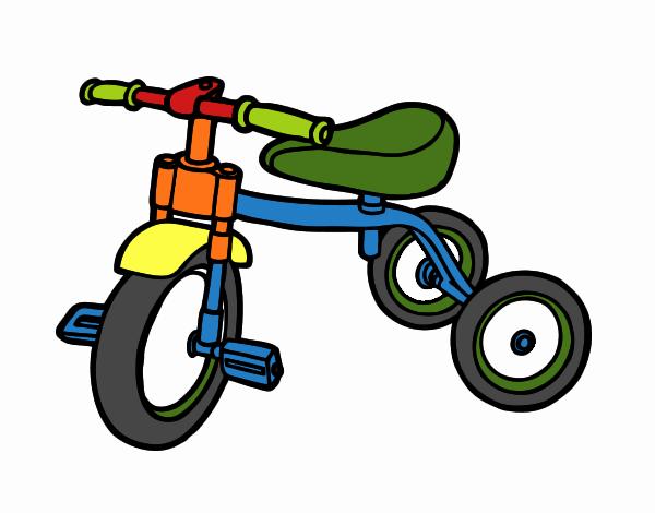 dessin de tricycle pour enfants colorie par membre non inscrit le 21 de mars de 2017. Black Bedroom Furniture Sets. Home Design Ideas