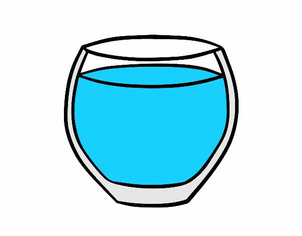 Dessin de verre d 39 eau colorie par membre non inscrit le 21 - Dessin de verre ...