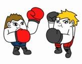 Match de boxe