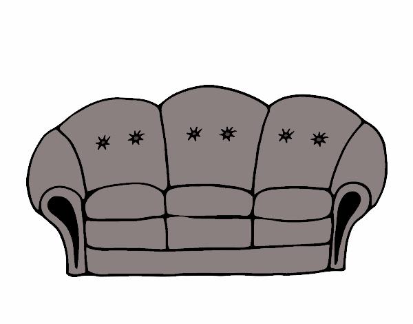 dessin de canap colorie par membre non inscrit le 09 de avril de 2017. Black Bedroom Furniture Sets. Home Design Ideas