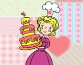 Gâteau maison d'anniversaire