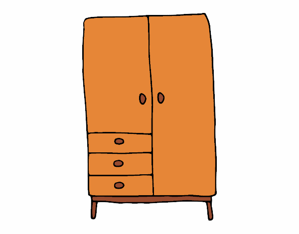dessin de armoire colorie par membre non inscrit le 12 de avril de 2017. Black Bedroom Furniture Sets. Home Design Ideas