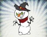 Bonhomme de neige méchant