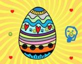 Oeuf de Pâques décoration