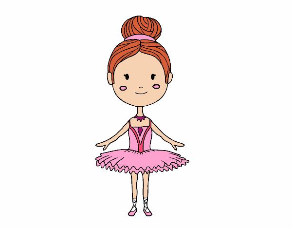 Une danseuse de ballet