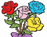 Bourquet de roses