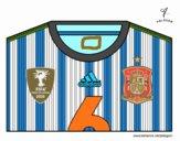 Maillot de la coupe du monde 2014 de l'Espagne