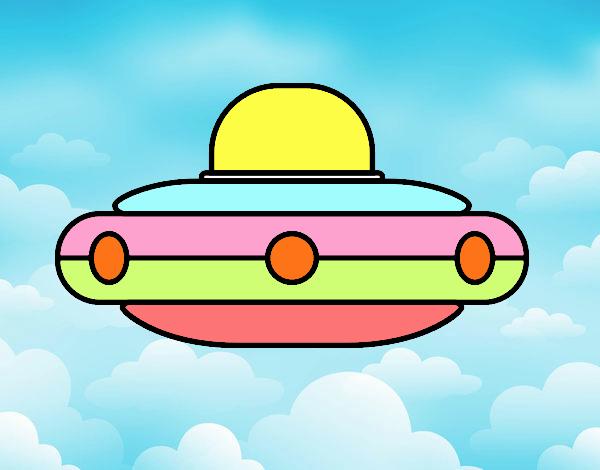 Vaisseau spatial extraterrestre