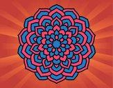 Mandala pétales de fleur