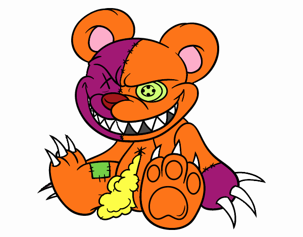 Ourson monstrueuse