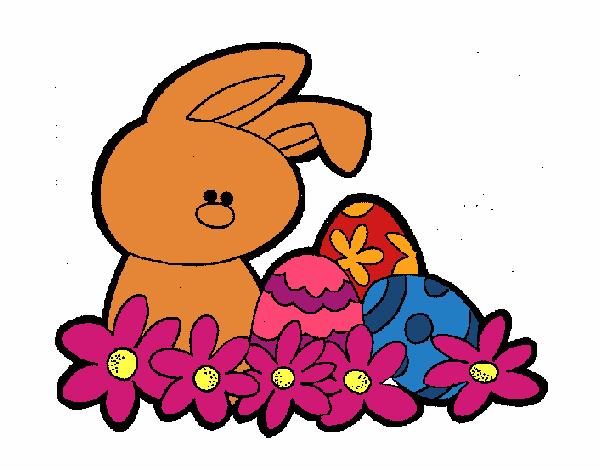 Petit lapin de Pâques
