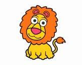 Lion sympathique