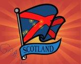 Drapeau de Écosse