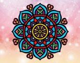 Mandala pour la concentration mental