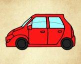 Coloriage Petite voiture colorié par raphael