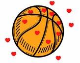 Un ballon de basket-ball