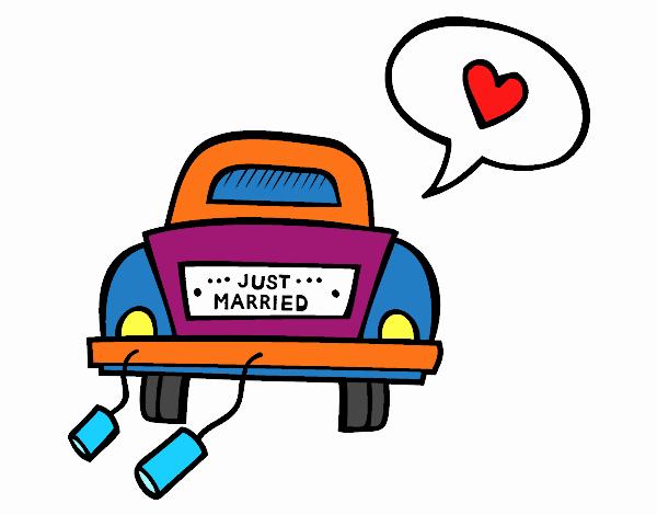 Dessin de voiture de mariage colorie par membre non inscrit le 23 de septembre de 2017 - Dessin voiture mariage ...