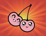 Deux cerises