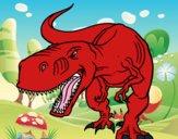 Tyrannosaurus Rex en colère