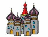 Coloriage Cathédrale Saint-Basile de Moscou colorié par noaczodor