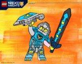 Coloriage Clay Nexo Knights colorié par noaczodor