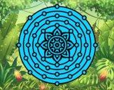 Mandala système solaire