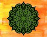 Mandala vie vegetale