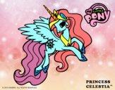 Coloriage Princess Celestia colorié par EdenM