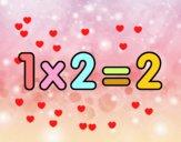 1 x 2