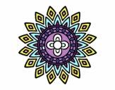Mandala clignote
