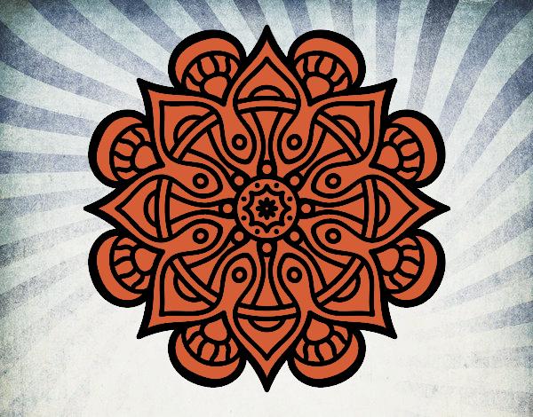Mandala monde arabe