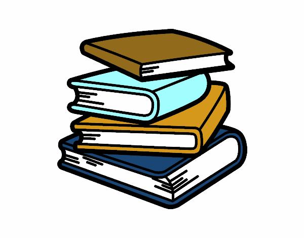 Dessin De Pile De Livres Colorie Par Membre Non Inscrit Le