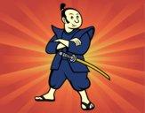 Samouraï adulte