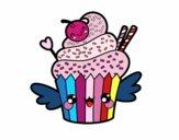 Une Cupcake kawaii