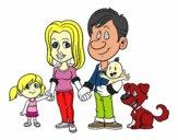 Une famille unie