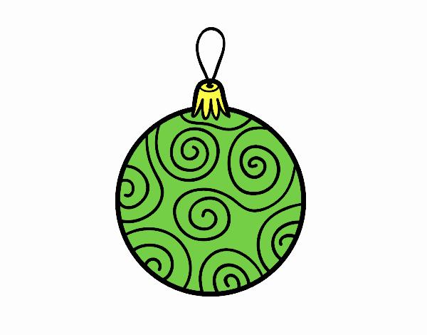 Boule Noel Decore