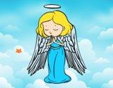 Un ange qui prie