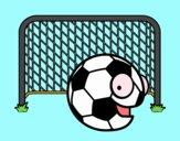Ballon dans les buts