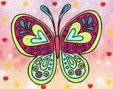 Mandala papillon