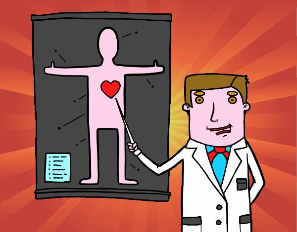 Médecin expliquant