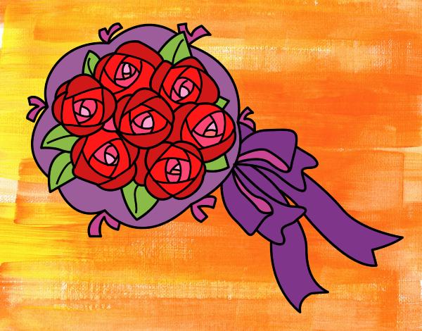 Bouquet de gardénias