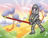 Chevalier avec lance