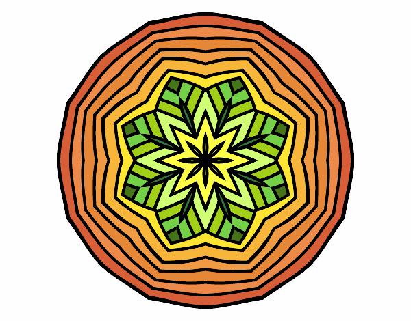Mandala aérienne