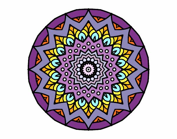 Mandala croissante