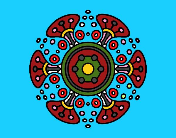 Mandala monde lointain