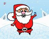 Père Noël drôle