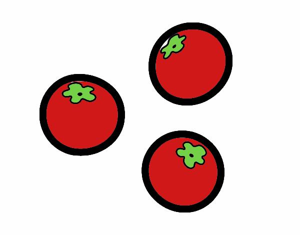 Dessin De Tomates Cerise Colorie Par Membre Non Inscrit Le 27 De