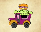 Food truck de hamburger