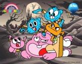 Gumball et les amis