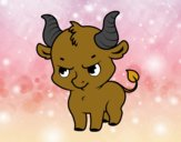 Bébé taureau